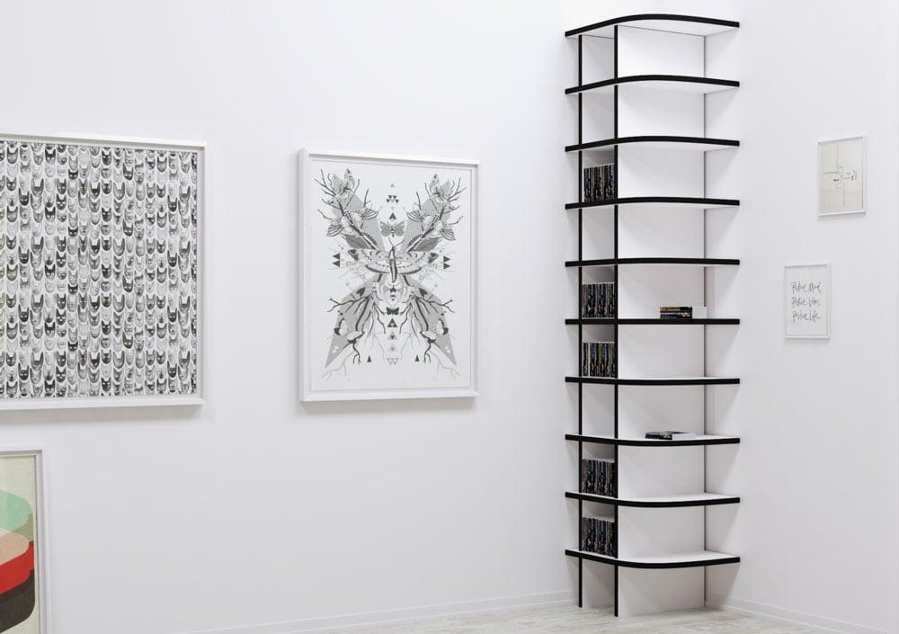 dvd regal design wohn design. Black Bedroom Furniture Sets. Home Design Ideas