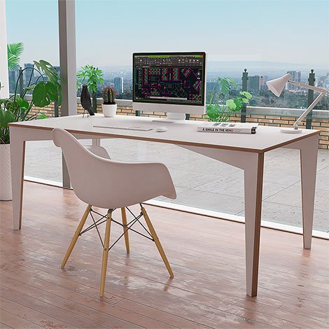 Designer desk made to measure Ornata