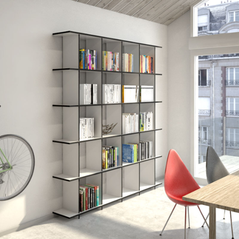 Shelving system Strada M - The freely formable shelving system