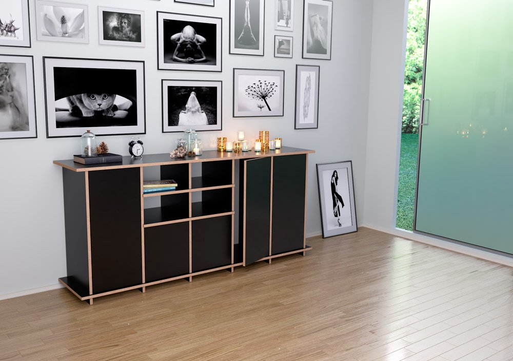 jara designer sideboard nach ma. Black Bedroom Furniture Sets. Home Design Ideas