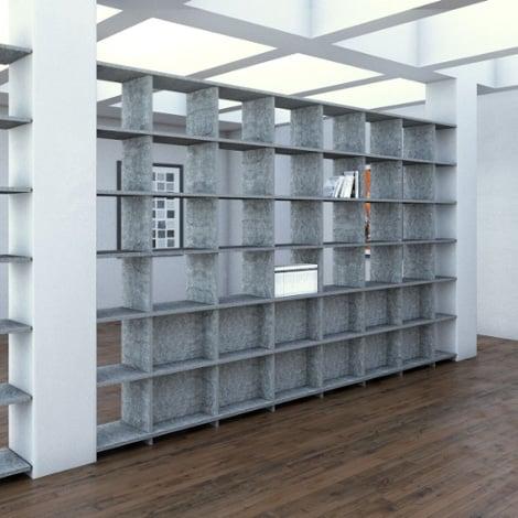 Acoustic shelf Largo - Bespoke acoustic furniture