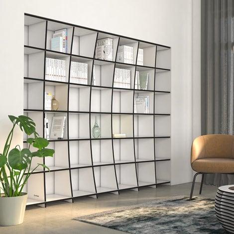 Designer-Bücherregal nach Maß Kava