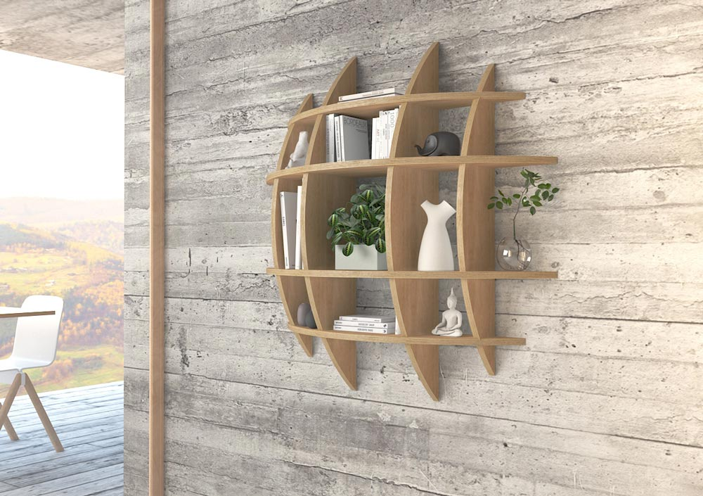Wall shelf Luna - null
