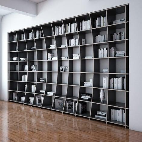 Designer-Bibliothek nach Maß Arca