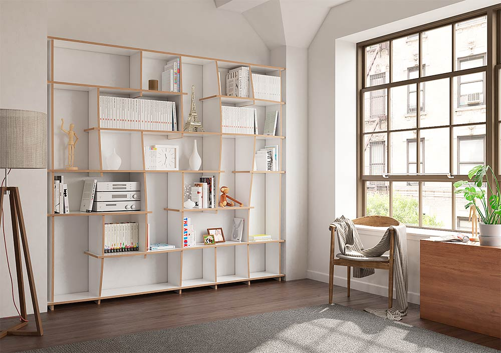 tanea designer b cherregal nach ma. Black Bedroom Furniture Sets. Home Design Ideas