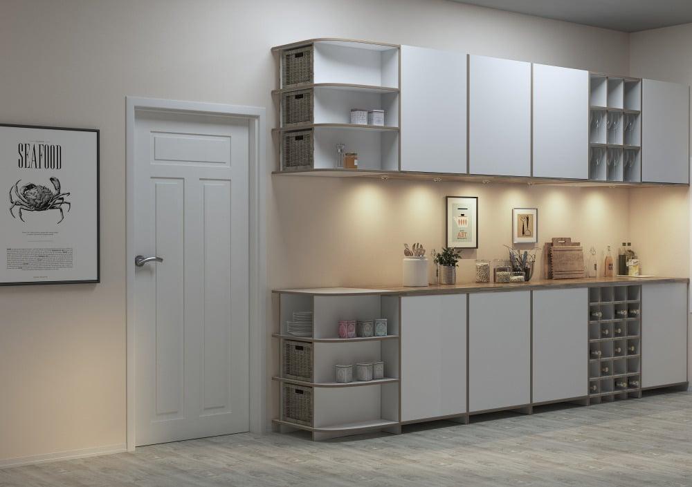 Küchenregal Corta