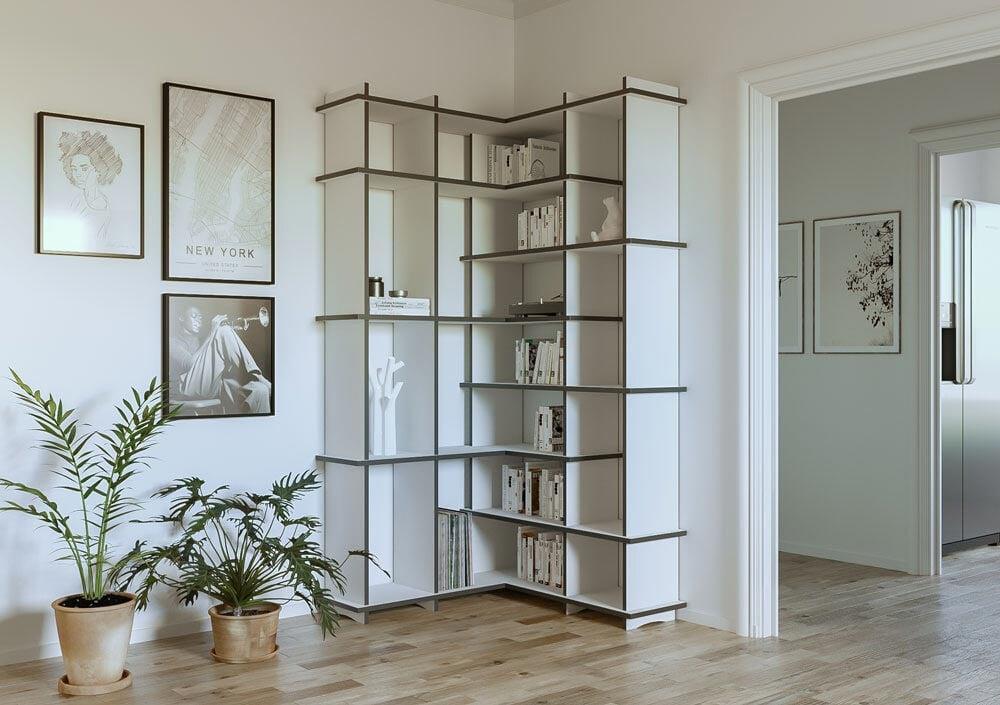 Corner shelf Benita - null