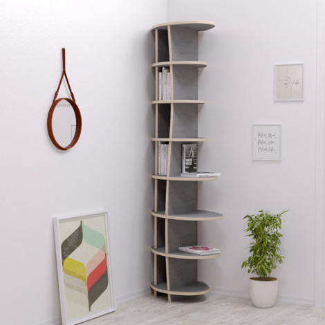 Corner shelf Armanda - The freely formable shelf system