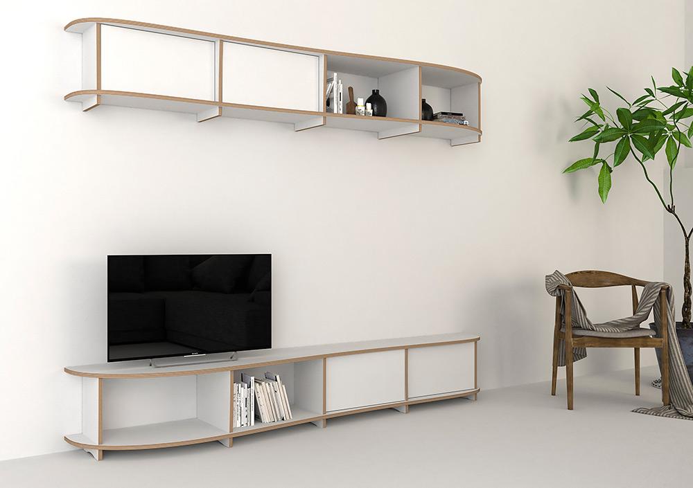TV wall Kila - null