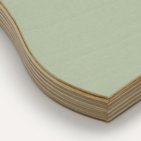 Eco mint, birch plywood