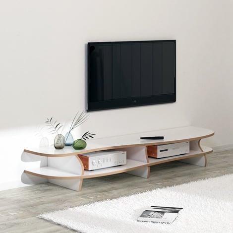 TV lowboard White Carpet