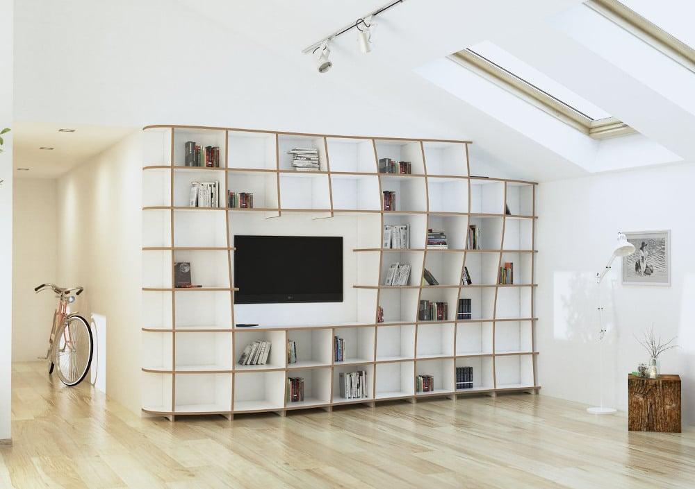 TV wall Massima - null