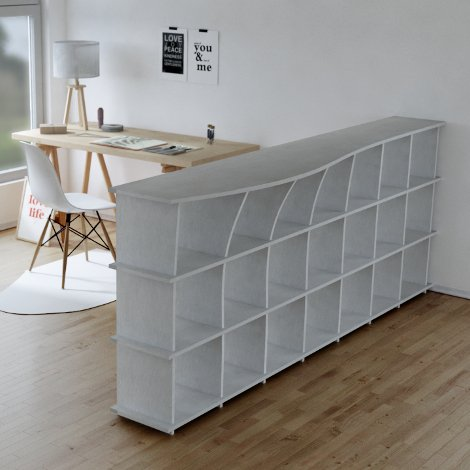 Acoustic shelf Baroa - null