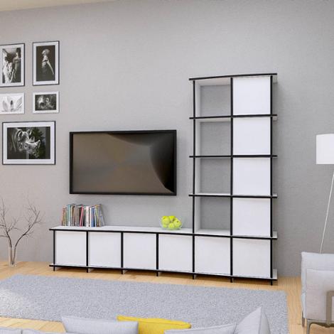 wohnwand designer wohnw nde nach ma. Black Bedroom Furniture Sets. Home Design Ideas
