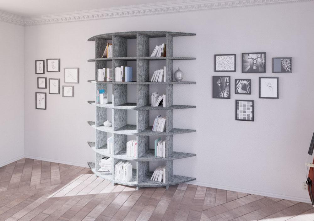 Acoustic shelf Ronda - Bespoke acoustic furniture