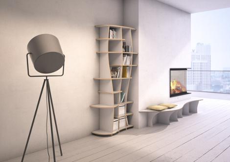 charlotta s designer b cherregal nach ma. Black Bedroom Furniture Sets. Home Design Ideas