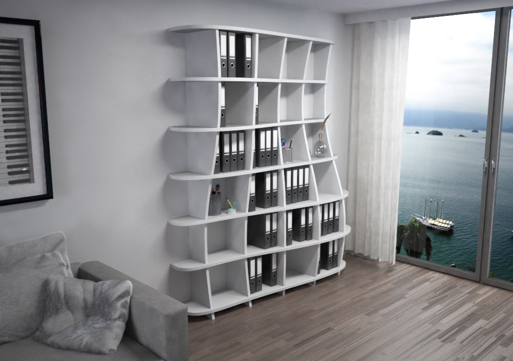 Acoustic shelf Freeda M - Bespoke acoustic furniture