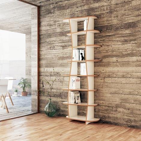 Designer-Bücherregal nach Maß Milana