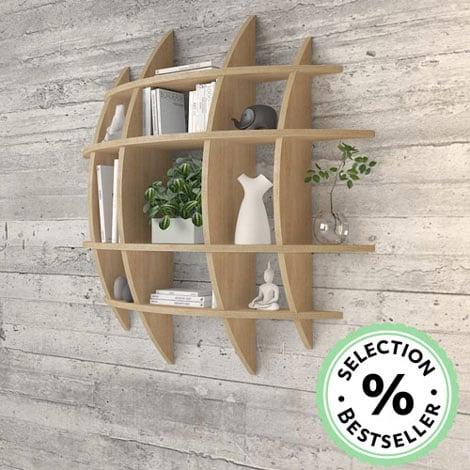 Wall shelf Luna - null