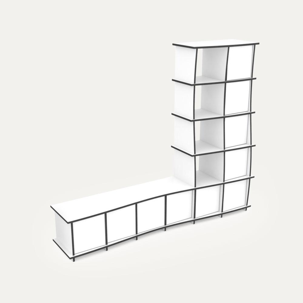 Designer-Wohnzimmerschrank Nach Maß