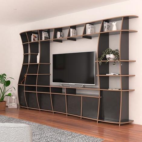 TV wall Giuseppa - null