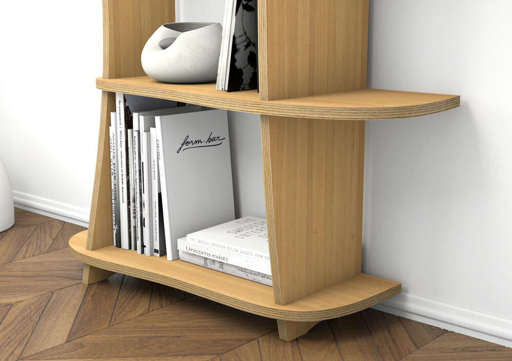 Wooden shelf Cocolina - null