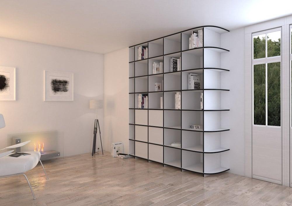 Penthouse wohnung im minimalistischen stil bequemes wohnzimmer