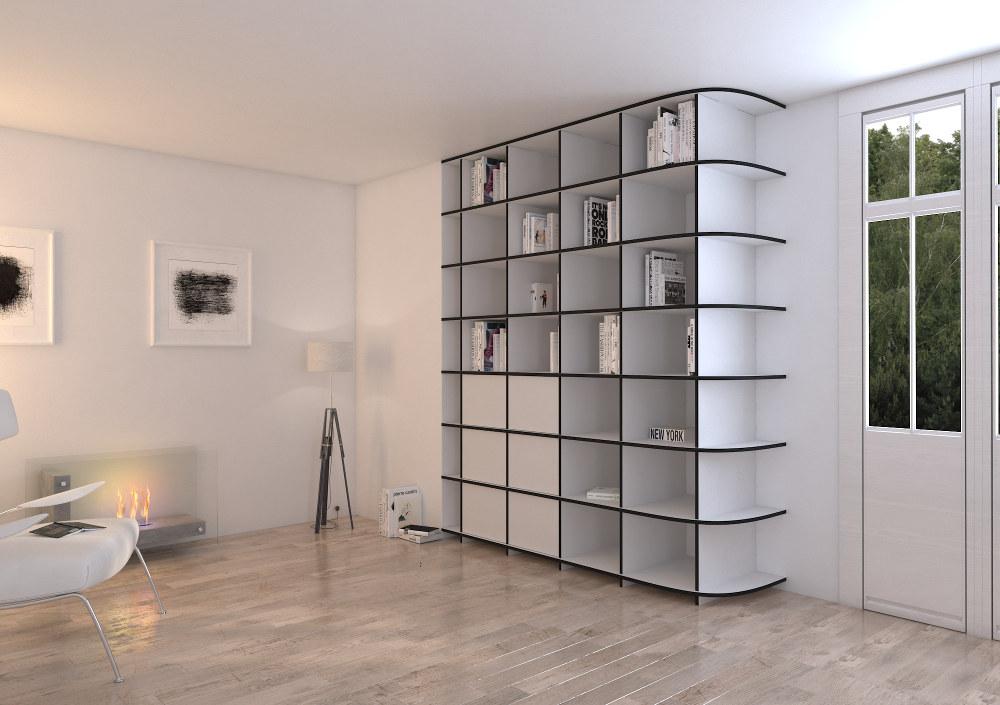Bookshelf Adriana for your penthouse apartment