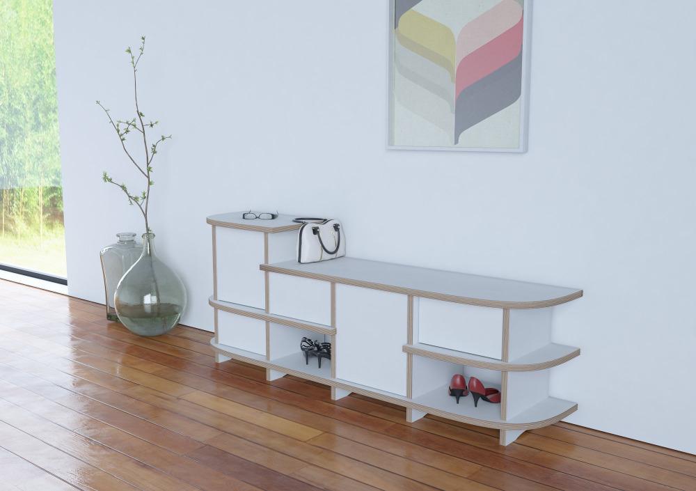 design schuhregal excellent wohnling schuhkipper niklas klappen sonoma mit spiegel xx cm holz. Black Bedroom Furniture Sets. Home Design Ideas