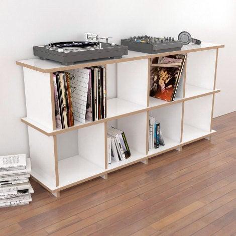 Schallplattenregal Vinyla