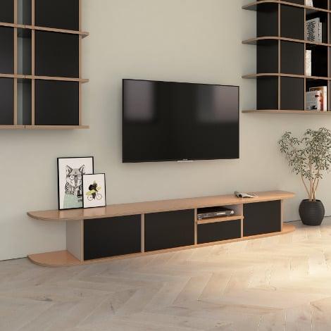 Designer-TV-Möbel nach Maß Hugo