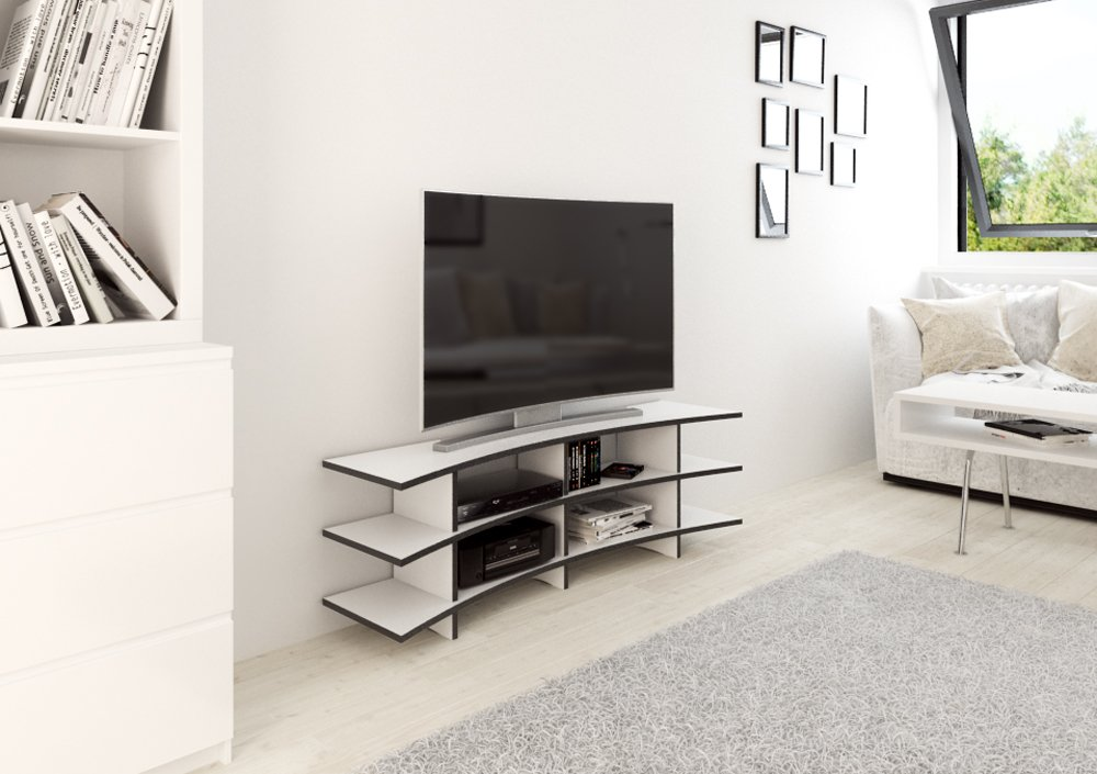 Design tv möbel  Curved TV | Designer-TV-Rack nach Maß | form.bar