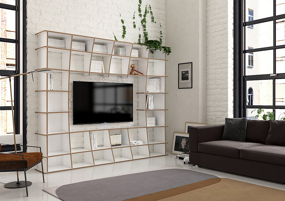 TV wall Jinga - null