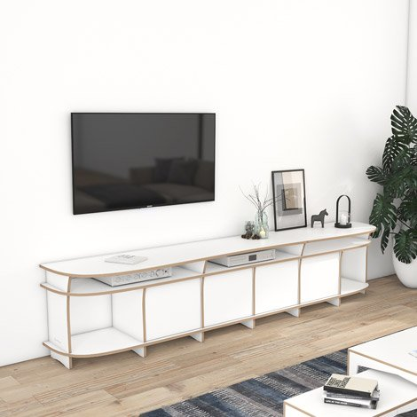 Designer-TV-Lowboard nach Maß Nick