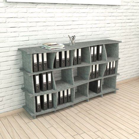 Acoustic shelf Sea - Bespoke acoustic furniture