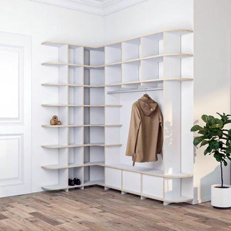 Corner shelf Garopa