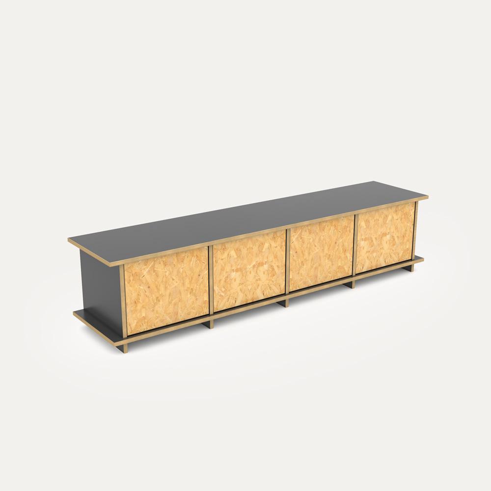 doralo designer lowboard nach ma. Black Bedroom Furniture Sets. Home Design Ideas