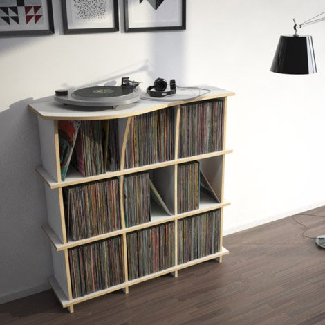 Record shelf Conco - Design your personal record shelf made to measure