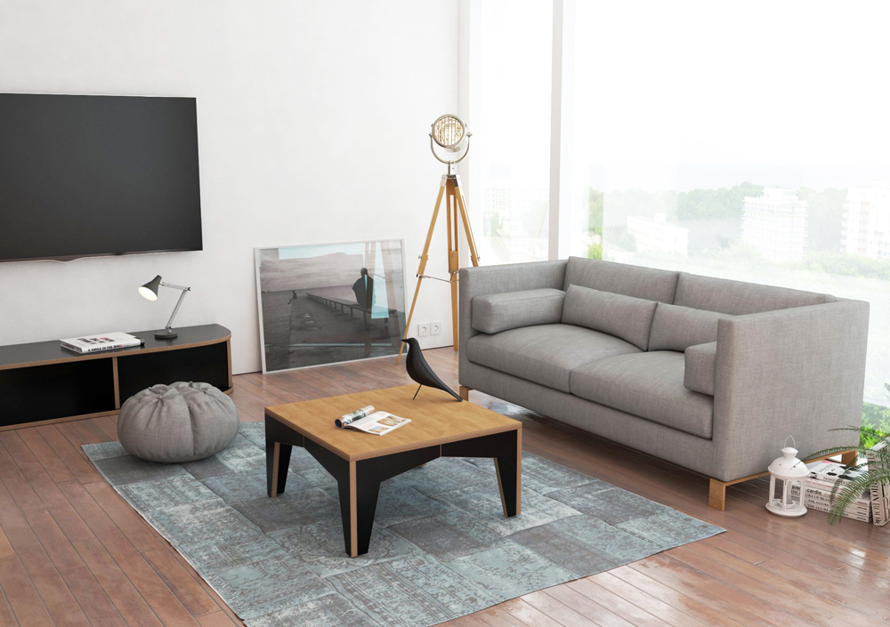 cuadra designer couchtisch nach ma. Black Bedroom Furniture Sets. Home Design Ideas