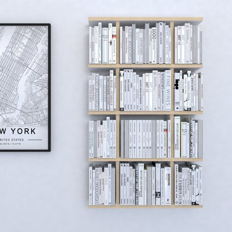 Wall shelf Yorki - null