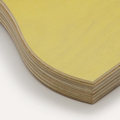 Eco yellow, birch plywood