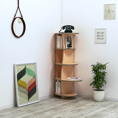 Corner shelf Armandina - The freely formable shelf system