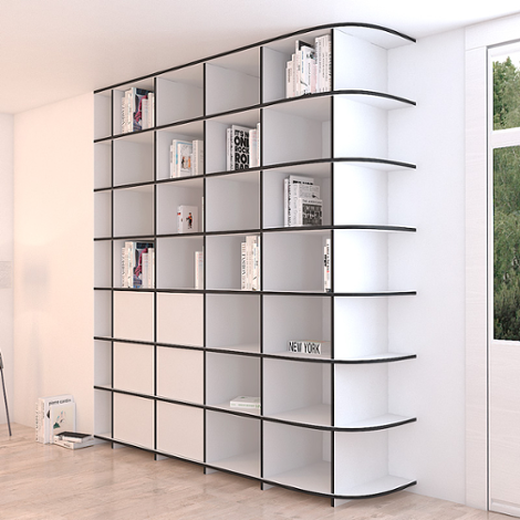 Bookcase Adriana - The freely formable shelf system